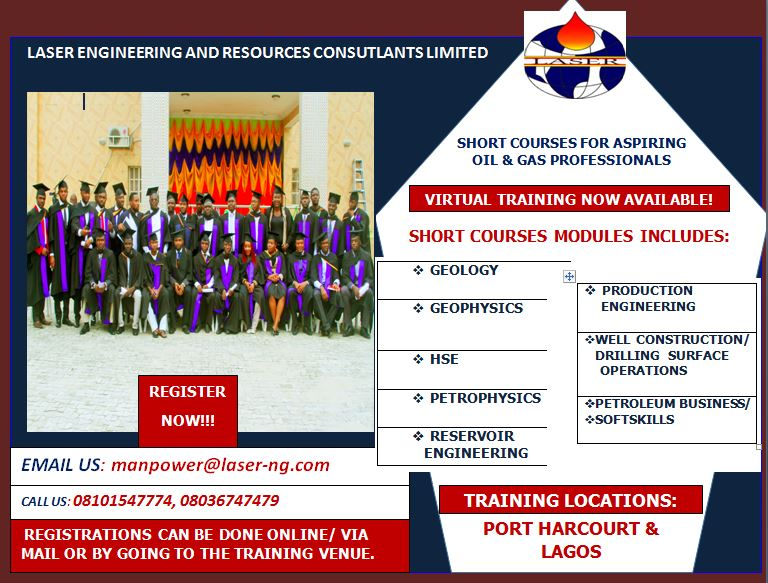 INDIGENIOUS SHORT COURSES FOR THE OIL AND GAS ASPIRING PROFESSIONALS!